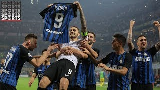 Mauro Icardi Channels Inner Ronaldo and Messi With Celebration