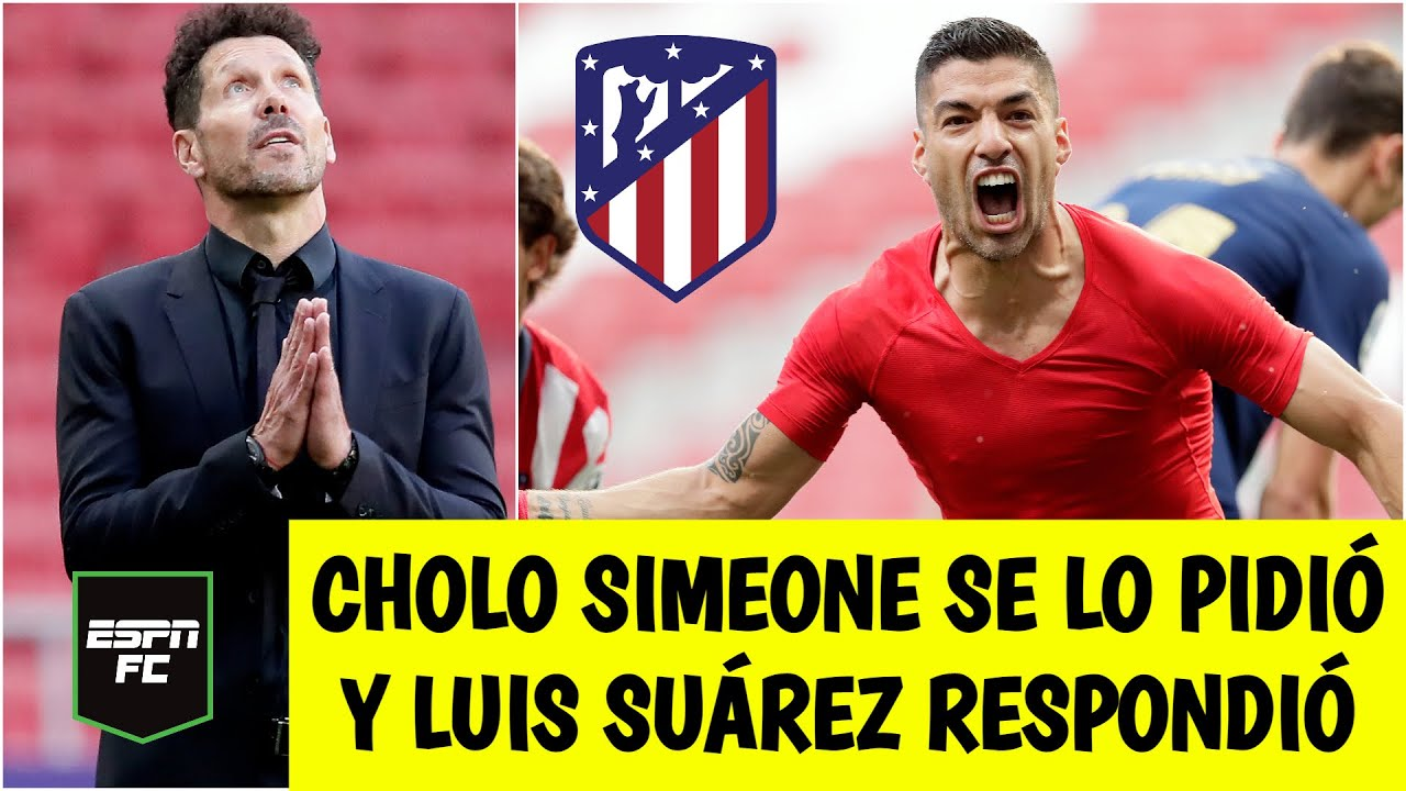 LA LIGA Atlético de Madrid le puso una mano al título gracias a Luis Suárez, EL SALVADOR | ESPN FC