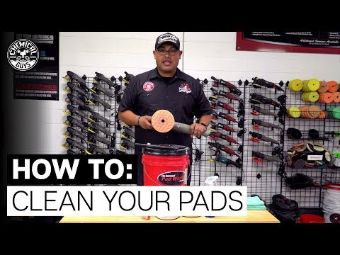 How To Clean Polishing Pads - Chemical Guys