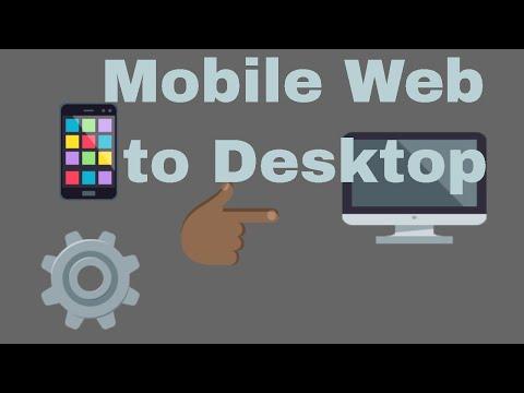 How change mobile website into desktop site in browser  #computerrepair #techtip