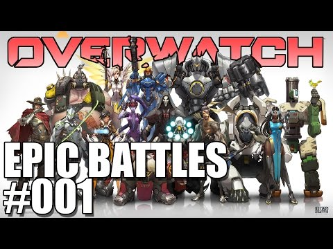 Overwatch Payload Battle