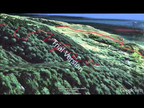 Miwok 100K 2012 Google Earth Flyover