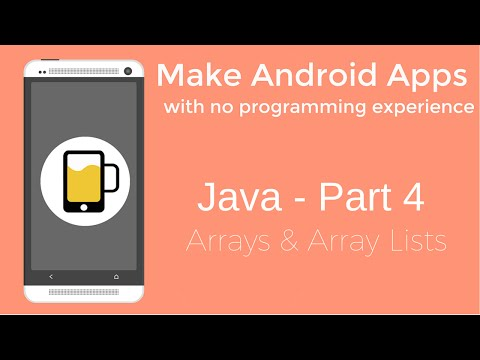 How to Make Android Apps - Java Programming Part 4
