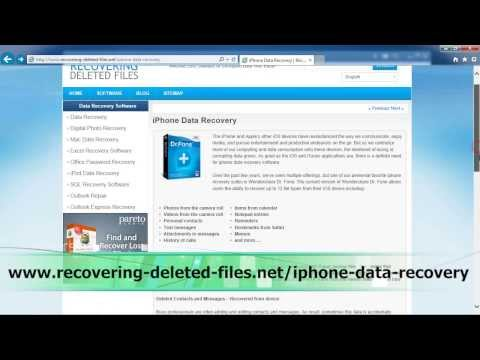 How To Retrieve and Recover Deleted Text Messages iPhone 6|6s|5|5c|5s|4|4s|3gs|3g|Plus Versions