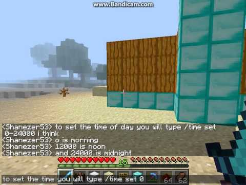 How to change time and gamemode on a server TUT