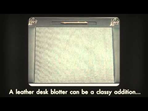 Leather Desk Blotters for Classier Work Space