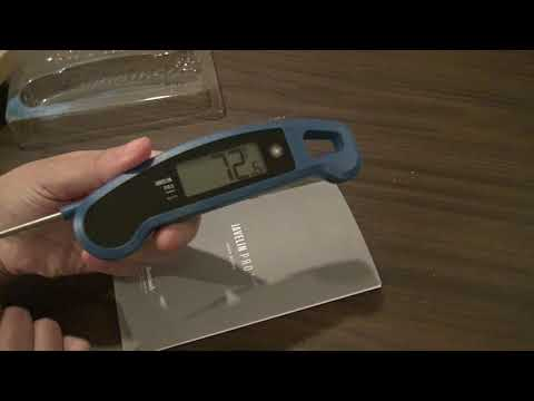 Javelin Pro Gourmet Food Thermometer unbox and review