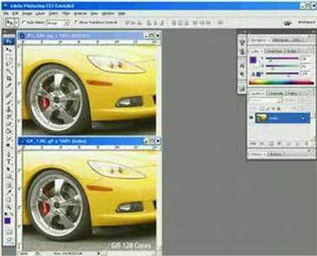 Formatos de imagem JPEG e GIF no Photoshop