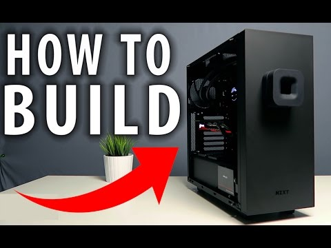 How to Build a PASCAL Gaming PC Guide in NEW S340 Elite