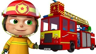 Zool Babies As Fire Fighters | Zool Babies Series | Cartoon Animation For Children