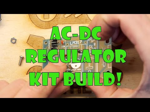 Teardown Lab - LM317 Adjustable AC DC Voltage Regulator Kit