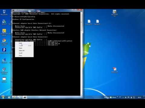 Wireless Router IP Address from the Command Prompt