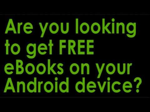 How to get FREE Android tablet eBooks
