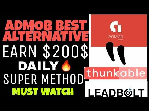 EARN DAILY $200 - Thunkable & LEADBOLT | Best ADMOB ALTERNATIVE