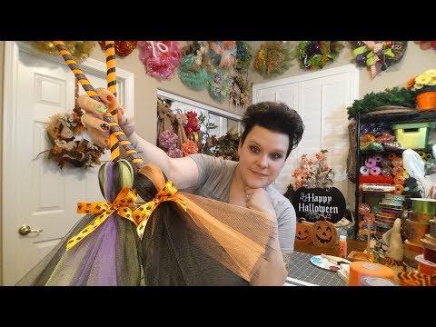 Halloween Decorative Witches Broom