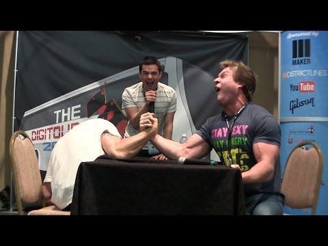 Arm Wrestling Furious Pete!