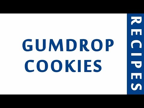 MARASCHINO CHERRY   GUMDROP COOKIES | DIABETIC RECIPES | STEP BY STEP | HEALTHY RECIPES |