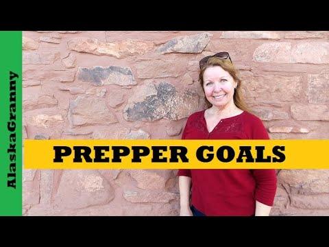 Prepping Goals 2018