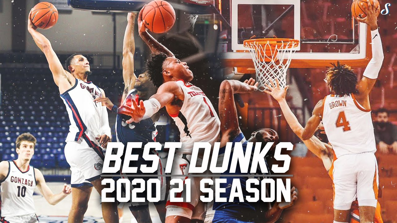 College Basketball's BEST Dunks & Posterizes Of The 2020-21 Season Pt.1