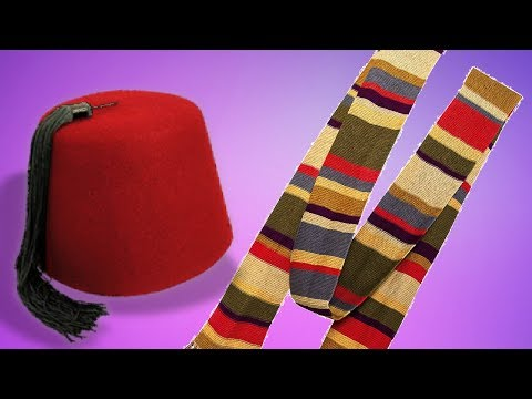 The Fourth Doctor's Scarf - Dalek Mod Crafting Recipes