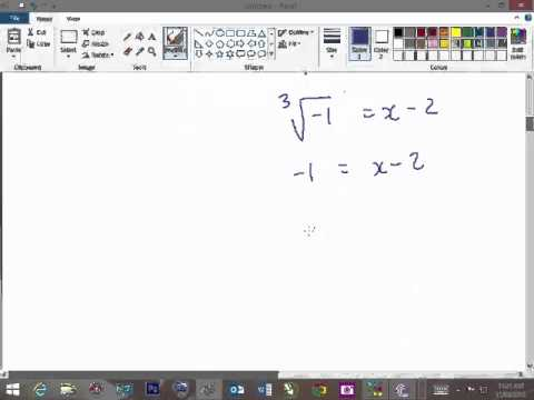 GRAPHING A CUBIC FUNCTION OF THE INFLECTION FORM EXAMPLE 1