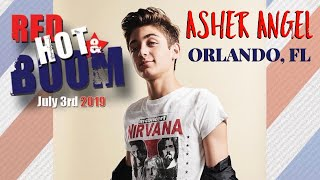 Asher Angel - Red Hot & Boom, Orlando Florida - July 3, 2019