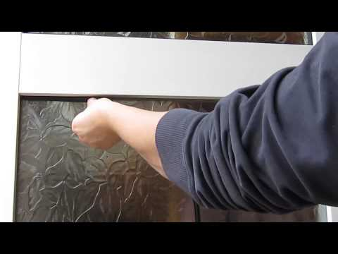 How to replace glazing gasket