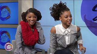 Sister Circle | Trina Braxton sits down with Chloe x Halle  | TVONE