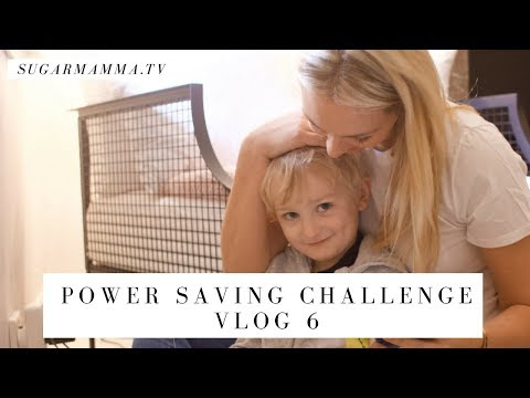 Power Saving VLOG Challenge 6 - Getting Serious About Power & Wastage || SugarMamma
