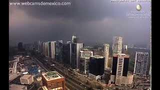 Download Santa Fe, Mexico City 9-14-15 4pm ″Evening Storm″ Video