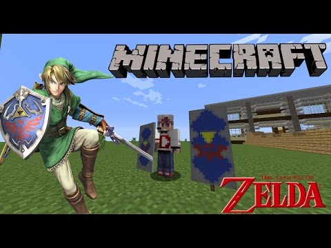 How to make a Hylian Shield Banner in Minecraft!