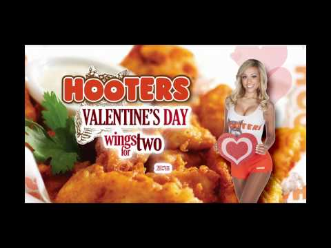 Hooters Valentines Day Wings For Two - 2012