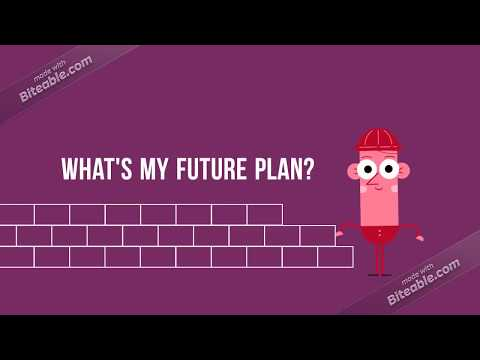 What's my future plan?