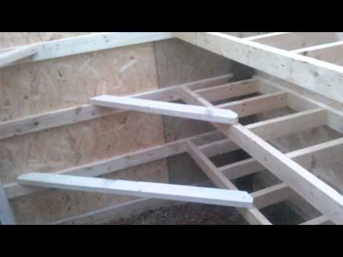 NEW DIY Chicken coop and nesting boxes: part 2