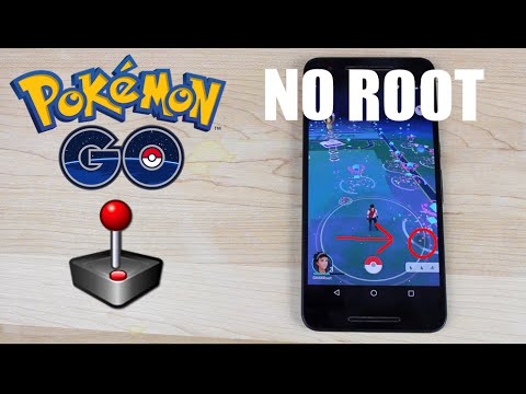 Pokemon Go Add Joystick Cheat Hack [NO ROOT] Change Location! Play at Home