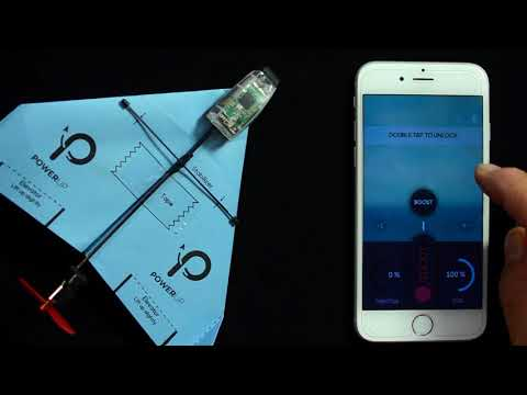 The POWERUP DART & 3.0 App Smartphone Controlled Paper Airplane