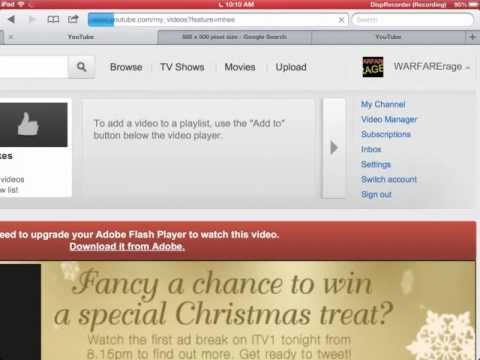 how to make youtube thumbnails and profile pictures on ipad,ipod,iphone