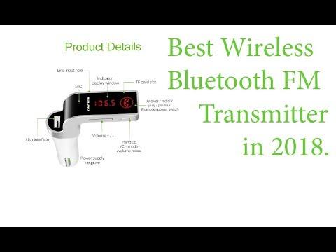 Best Wireless Bluetooth FM Transmitter