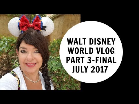 Walt Disney World VLOG JULY 2017 Part 3