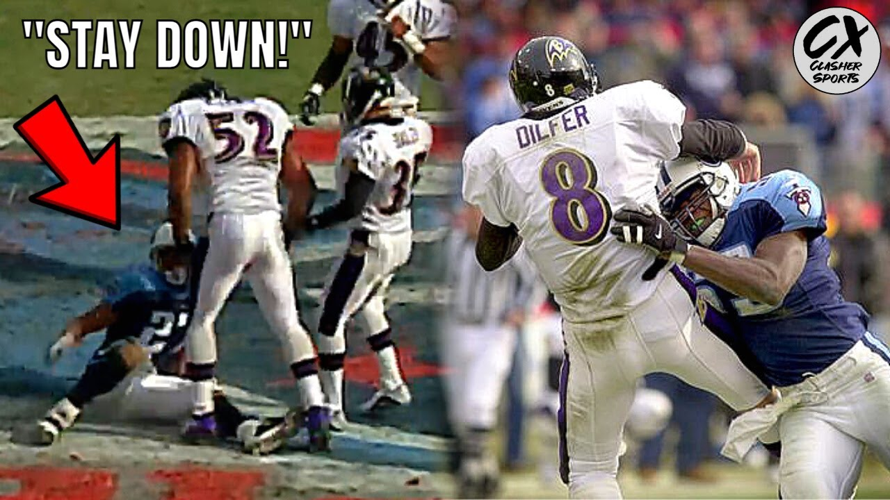 The Game That Started One Of The NFL's MOST INTENSE Rivalries (Ravens vs Titans)