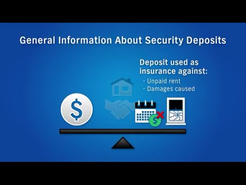 Security Deposits: Private Landlord-Tenant Lease