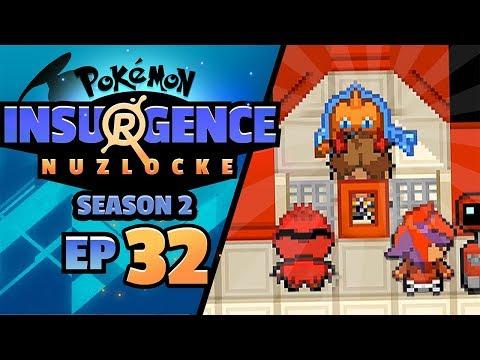MY DUDES THEY CAUGHT ME... - Pokémon Insurgence Nuzlocke (Episode 32)