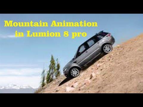LUMION 8 pro Advance mountian vehicle Animation(Urdu/Hindi)