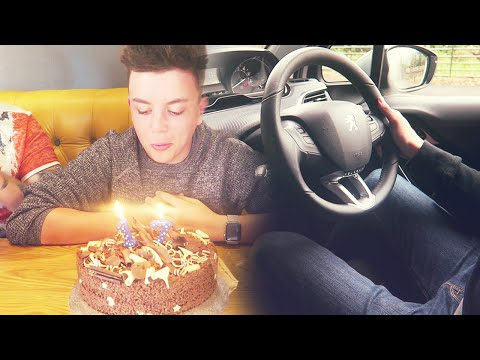 NEW CAR AND FIRST EVER DRIVING LESSON!! (17th Birthday Surprise)