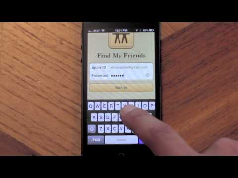 How to Track a Person Using an iPhone : Apple & iOS Madness!