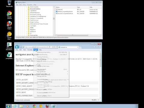 Forcing IE9 to IE7 compatibility mode using Microsoft Group Policy