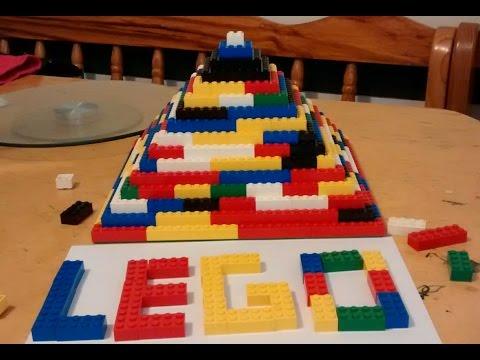 LEGO FUN! Pyramid Build Timelapse!