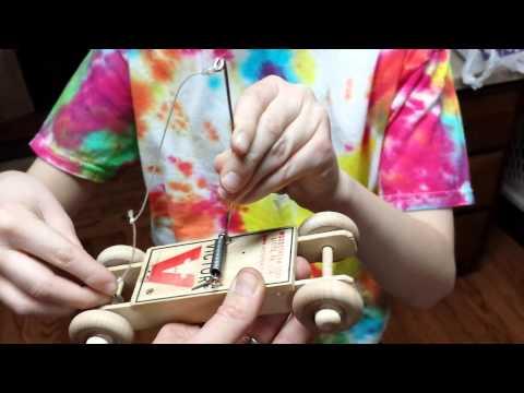 Prototype mousetrap car