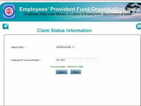 Employee Provident Fund Status and Balance Online - How to check it