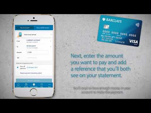 How to make payments | Barclays Mobile Banking app